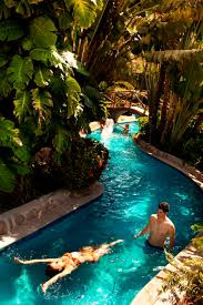 here is our lazy river at the velas vallarta resort that i work at