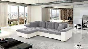 grey l shaped sofa bed avellino leather fabric corner l shape sofa bed storage black