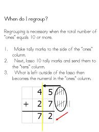 mrs trevino u0027s 2nd grade class addition w regrouping using tally