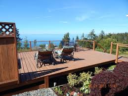 Tiny House Deck by Tiny House With Giant View Awesome Deck Homeaway Port Angeles
