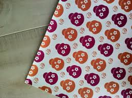 skull wrapping paper sugar skull wrapping paper