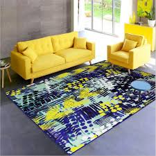 Kid Room Rug Modern Abstract Style Personal Creative Design Carpets For Living