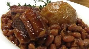 cuisiner des feves seches recette fève au lard a la mélasse maison cuisine traditionnelle