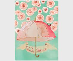umbrella baby shower mint watercolor umbrella baby shower invitations the