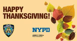 commissioner o neill s thanksgiving message to the nypd