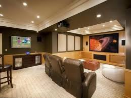 black basement ceiling with recessed lighting ideas for