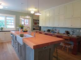 Long Island Kitchens Remodeled Kitchen Island Salvaged Wood Shannon U0027s Blog