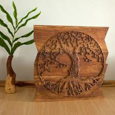 awesome tree of wood carving wall 90 for lsu wall
