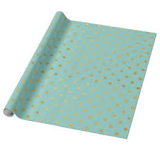 turquoise wrapping paper modern wrapping paper zazzle