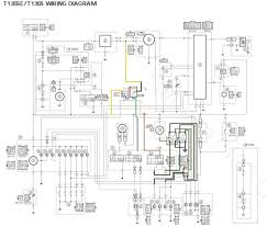 honda wave electrical wiring diagram with blueprint images 125