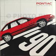 1990 pontiac grand am original owner u0027s manual le se