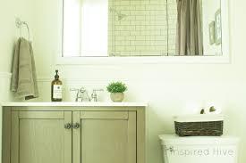 Simple Farmhouse Bathroom Makeover One Room Challenge The - Simple bathroom makeover