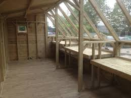 interior workbenches potting shed the wooden workshop oakford