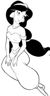 princess jasmine coloring pages printable coloringstar