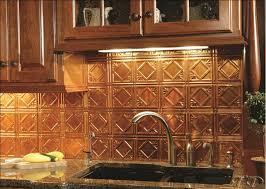 faux tin kitchen backsplash traditional kitchen ideas with rubbed bronze tin tile
