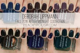 deborah lippmann fall 2016 after midnight collection swatches