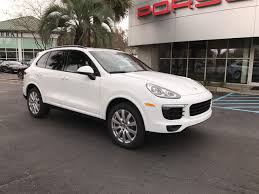 porsche suv 2017 pre owned 2017 porsche cayenne v6 platinum edition suv in charleston