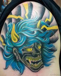 56 elegant mask tattoos on arm