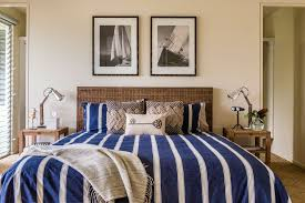 coastal chic headboard for shabby chic style bedroom and bedside