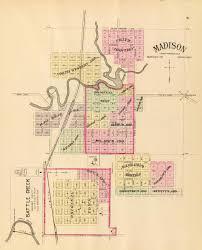 Lincoln Ne Map History Of Battle Creek Madison County Nebraska Nebraska Genealogy