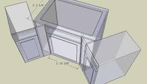 kitchen furniture plans kitchen corner base cabinet plans exitallergy