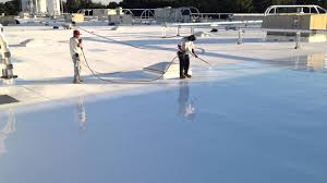 Surecoat Roof Coating by Silicone Roof Coating Restoration Progressive Materials Youtube