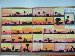african sunset art u201cit is the supreme art of the teacher to