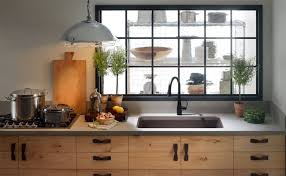black kitchen faucets kitchen with wooden cabinets and black faucet using an