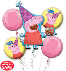 pig balloons peppa pig balloons party city canada