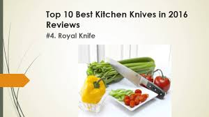 top 10 best kitchen knives in 2016 reviews youtube