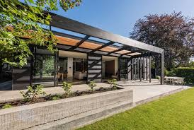 eichler style home eichleresque house in new zealand features its own steam