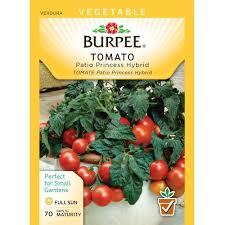 burpee tomato patio princess hybrid seed 64046 the home depot