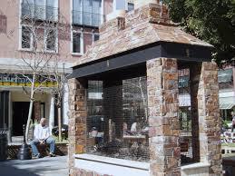 outdoor fireplace yhbk design on vine
