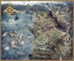 Image Of World Map The Witcher 3 World Map