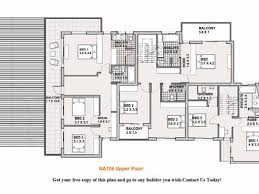 free modern double storey house plans housedecorations