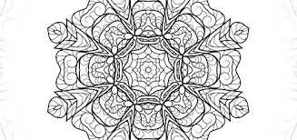 Detailed Coloring Pages To Print Mandala Flower Detailed Coloring Mandala Flowers Coloring Pages