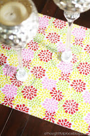 how to make table runner at home how to make a table runner acrylic love a thoughtful place