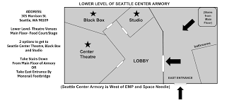 Seattle Link Map by Seattle Center Map U2013 Seattle Fringe Festival 2017