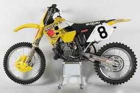 larry ward suzuki rm 250 cc ama motos oficiales mx pinterest
