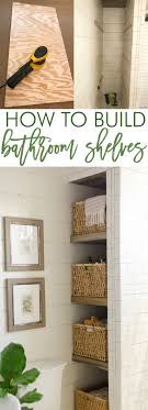 Cheap Bathroom Storage Cheap Bathroom Storage Ideas Bathroom Shelf Ideas Pinterest Diy