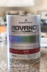 Benjamin Moore Paint For Cabinets Painting Cabinets Applying The Paint Miss Mustard Seed