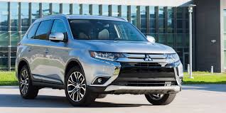 mitsubishi outlander 2017 mitsubishi outlander vehicles on display chicago auto
