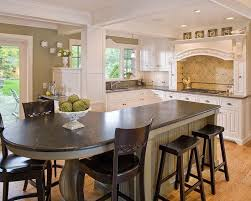 kitchen island with seating area kitchen islands with seating for 6 with chicken statue ornament