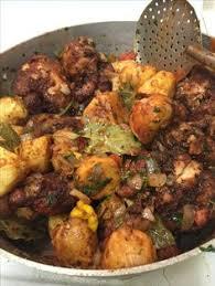 mali cuisine malian food zamai riz gras fried rice with blue fish and