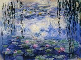 Claude Monet Blind Claude Monet And Water Lilies 1916
