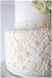 vintage wedding cakes it is all in the details lace pearls and