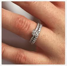 wedding ring with two bands your wedding and engagement rings should be partners
