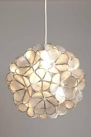 shell ceiling light capiz ceiling light and stylish shell flower non