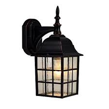 amazon outdoor light fixtures hardware house 188357 downward facing 14 by 6 inch aluminum outdoor