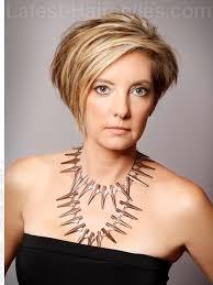 asymetrical ans stacked hairstyles över 1 000 bilder om hair på pinterestkort hår pixiefrisyr och